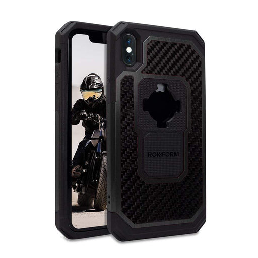 Rokform Cases Rokform iPhone XS Max Fuzion Pro Case - Black