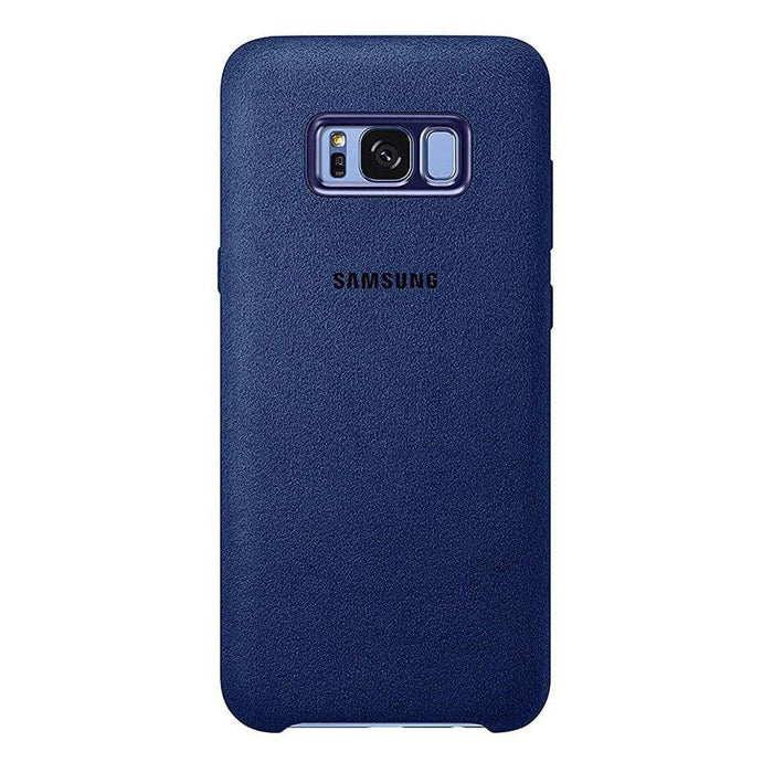 Samsung Cases Samsung Alcantara Cover Case for Samsung Galaxy S8+ in Blue