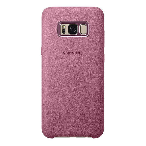 Samsung Cases Samsung Alcantara Cover Case for Samsung Galaxy S8+ in Pink