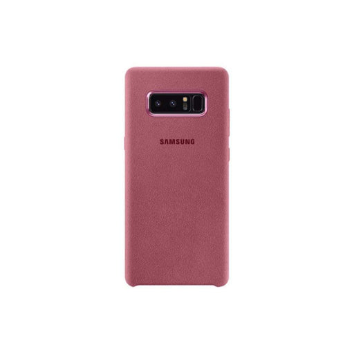 Samsung Cases Samsung Alcantara Cover Case for Samsung Note 8 in Pink
