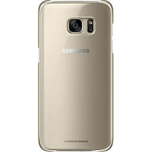 Samsung Cases Samsung Clear Cover Case for Samsung Galaxy S7 Edge in Gold