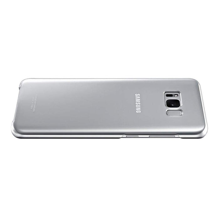 Samsung Cases Samsung Clear Cover Case for Samsung Galaxy S8+ in Silver