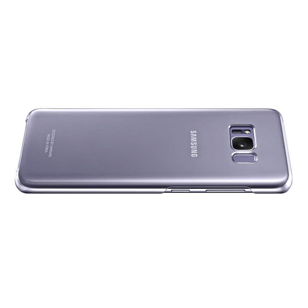 Samsung Cases Samsung Clear Cover Case for Samsung Galaxy S8 in Violet