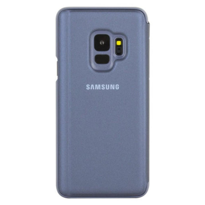 Samsung Cases Samsung Clear View Case for Samsung Galaxy S9 in Blue