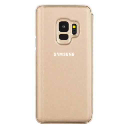 Samsung Cases Samsung Clear View Case for Samsung Galaxy S9 in Gold
