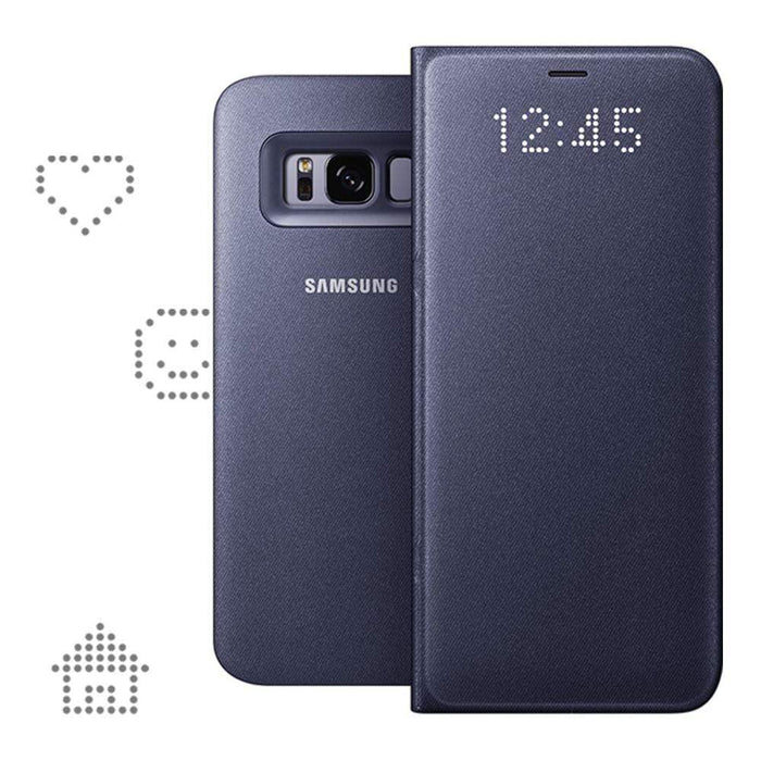 Samsung Cases Samsung LED View Case for Samsung Galaxy S8 in Violet