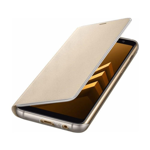 Samsung Cases Samsung Neon Flip Case for Samsung Galaxy A8 (2018) in Gold