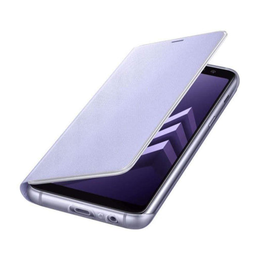 Samsung Cases Samsung Neon Flip Case for Samsung Galaxy A8 (2018) in Orchid Grey