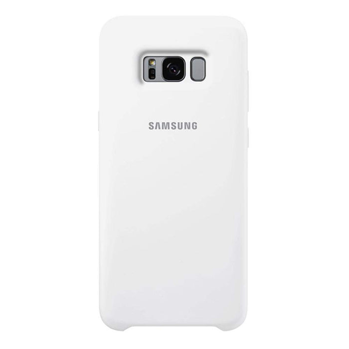 Samsung Cases Samsung Silicone Cover Case for Samsung Galaxy S8+ in White