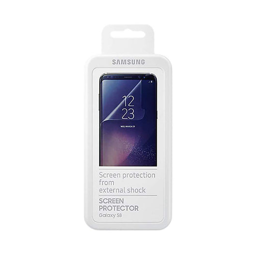 Samsung Screen Protection Official Samsung Film Screen Protector for Samsung Galaxy S8 in Clear
