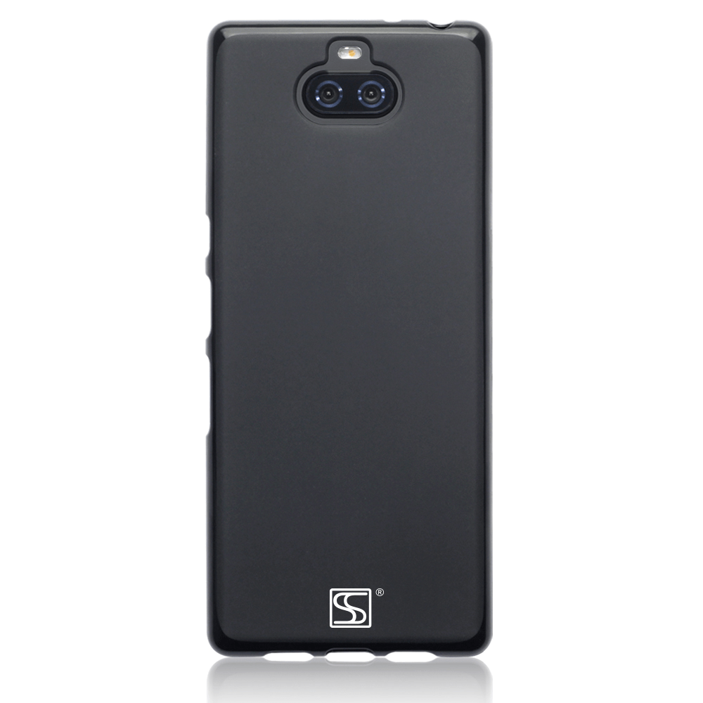 Shocksock Cases Shocksock Black Gel Case for Sony Xperia 10 Plus