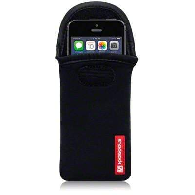 Shocksock Cases Shocksock Universal Phone Neoprene Case Size 5 - Black