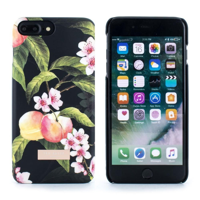 Ted Baker Cases Ted Baker AUIR Hard Shell Case for Apple iPhone 8 Plus / 7 Plus in Peach Blossom