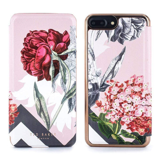 reputable site f06de 5bf78 Ted Baker EMMARE Mirror Folio Case for Apple iPhone 8/7 in Palace Gardens