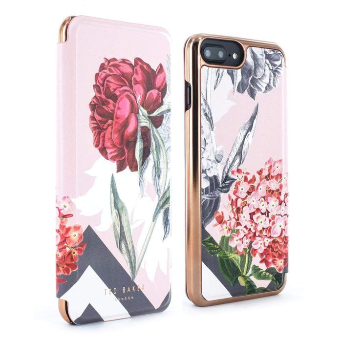 5c17f13445 Ted Baker Cases Ted Baker EMMARE Mirror Folio Case for Apple iPhone 8/7 in