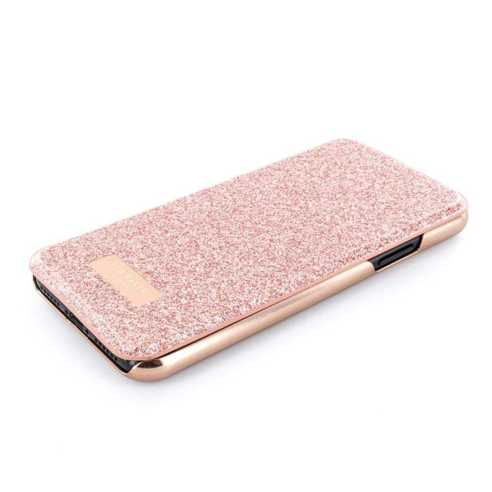 Ted Baker Cases Ted Baker PERI Mirror Folio Case for Apple iPhone X/XS in Rose Gold