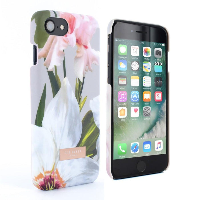 Ted Baker Cases Ted Baker REBECCA Hard Shell Case for Apple iPhone 8/7 in Chatsworth Bloom
