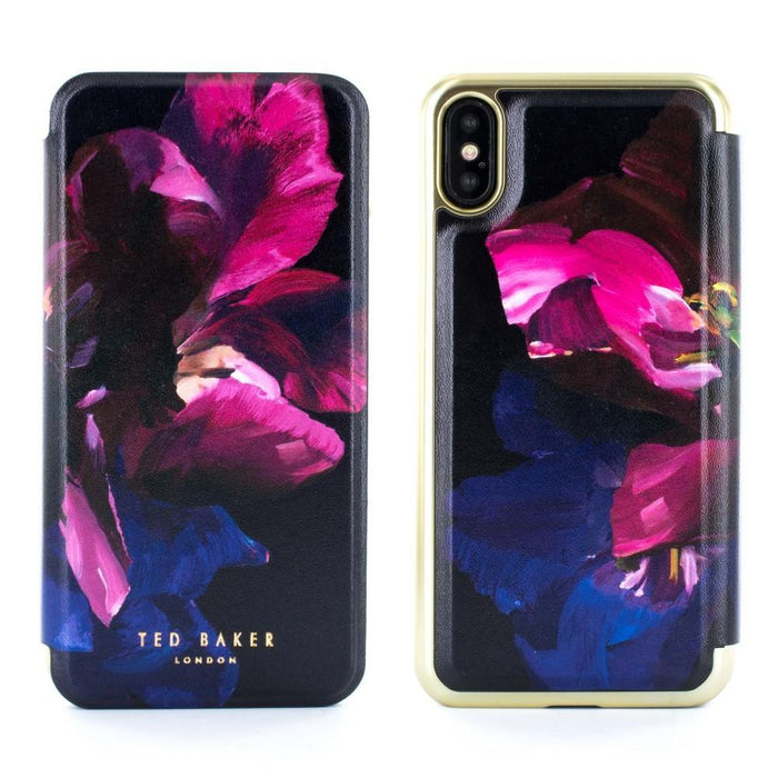 Ted Baker Cases Ted Baker SHELEEN Mirror Folio Case for Apple iPhone X/XS in Impressionist Bloom