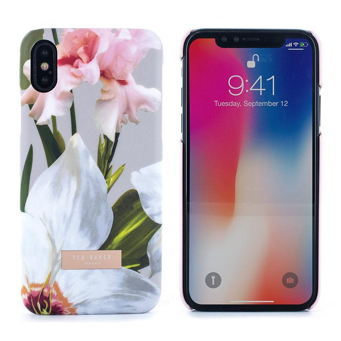 Ted Baker Cases Ted Baker SID Hard Shell Case for Apple iPhone X/XS in Chatsworth Bloom
