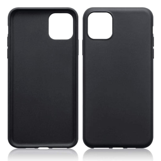 Terrapin Cases Terrapin Apple iPhone 2019 6.5 Inch Ultra Slim Gel Case - Black Matte