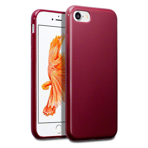 Terrapin Cases Terrapin Apple iPhone 8/7 TPU Gel Case - Red Matte