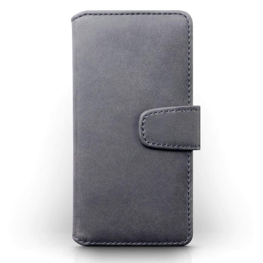 Terrapin Cases Terrapin Apple iPhone 8 / iPhone 7 Real Leather Wallet Case - Grey