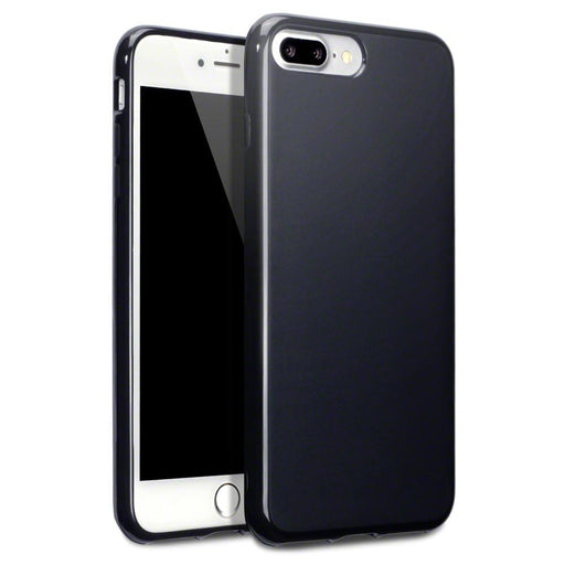 wholesale dealer 64b99 4c644 Terrapin Apple iPhone 8 Plus / 7 Plus Slim Gel Case - Black Matte