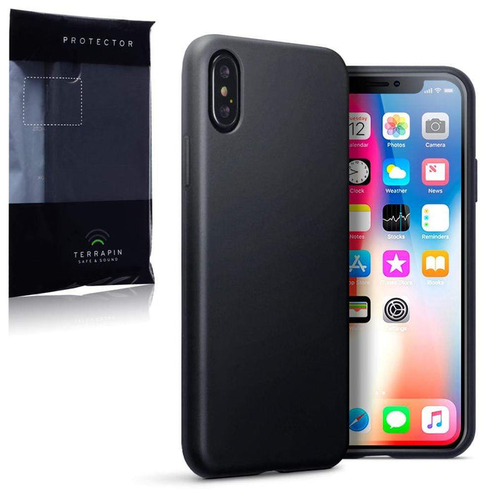 Terrapin Cases Terrapin Apple iPhone X/XS TPU Gel Case - Black Matte