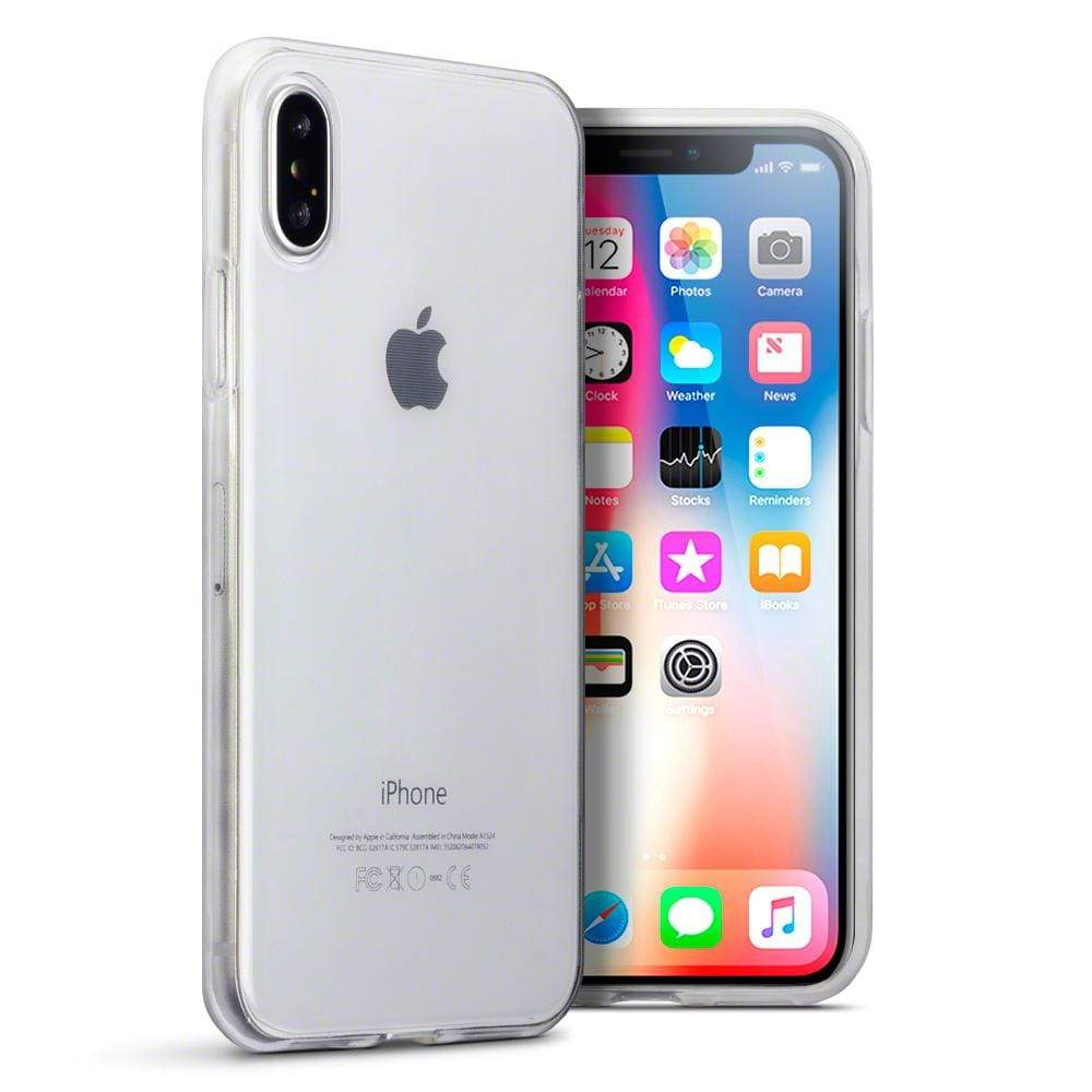 Terrapin Cases Terrapin Apple iPhone X/XS TPU Gel Case - Clear