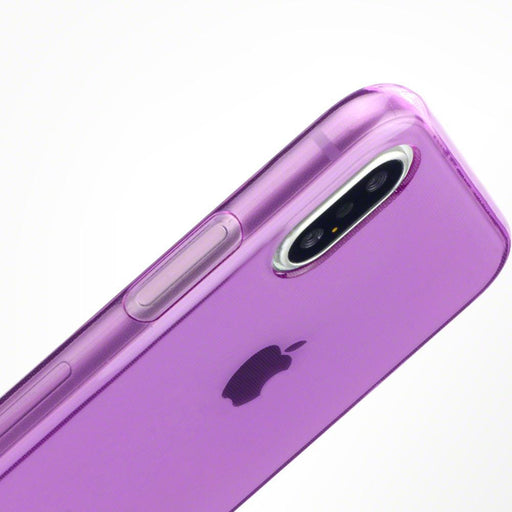 Terrapin Cases Terrapin Apple iPhone X/XS TPU Gel Case - Purple