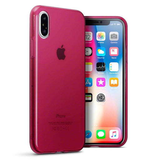 Terrapin Cases Terrapin Apple iPhone X/XS TPU Gel Case - Red