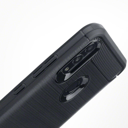 Terrapin Cases Terrapin Huawei Honor 10 Lite Carbon Fibre Design TPU Gel Case - Black