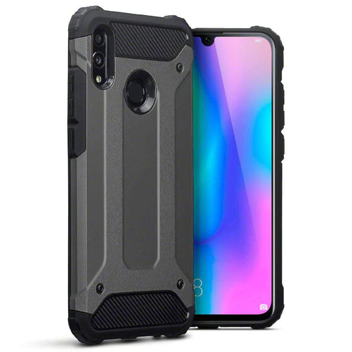 Terrapin Cases Terrapin Huawei Honor 10 Lite Double Layer Impact Case - Gunmetal