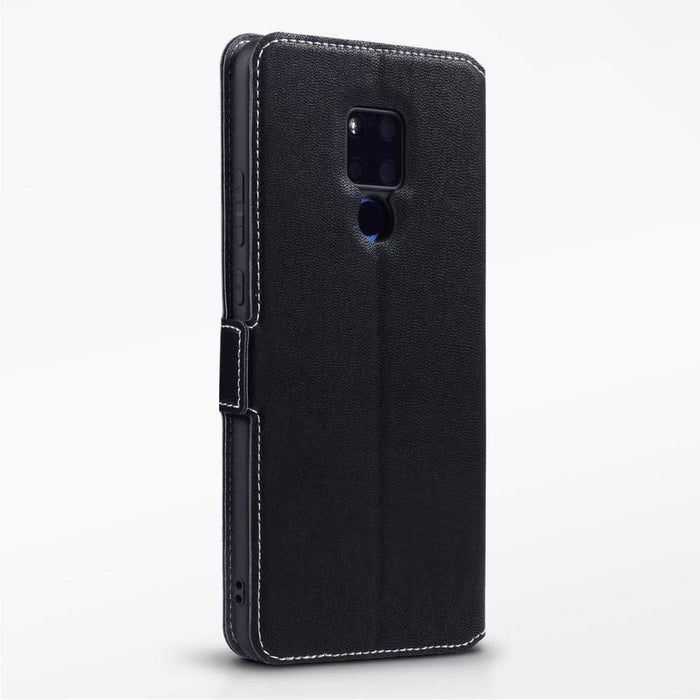 Terrapin Cases Terrapin Huawei Mate 20 X Low Profile PU Leather  Wallet Case - Black