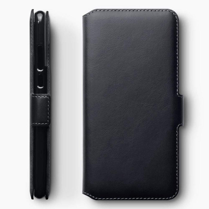 Terrapin Cases Terrapin Huawei P30 Lite Low Profile Genuine Leather Wallet Case - Black