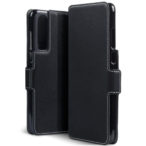 Terrapin Cases Terrapin Huawei P30 Low Profile PU Leather Wallet Case - Black