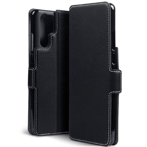 Terrapin Cases Terrapin Huawei P30 Pro Low Profile PU Leather Wallet Case - Black