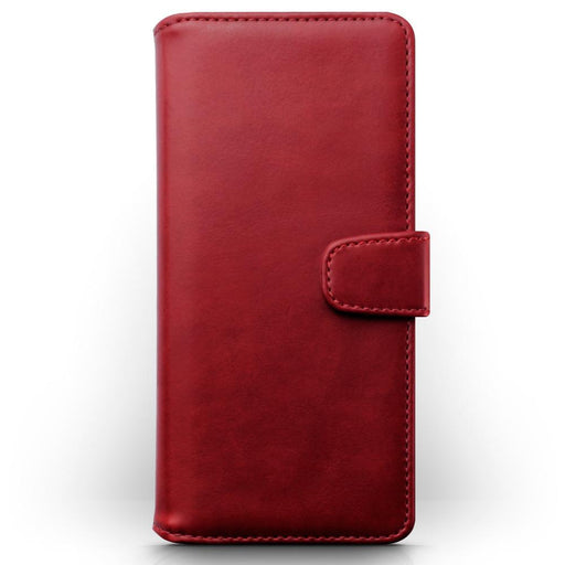 Terrapin Cases Terrapin Huawei P30 Pro Real Leather Wallet Case - Red