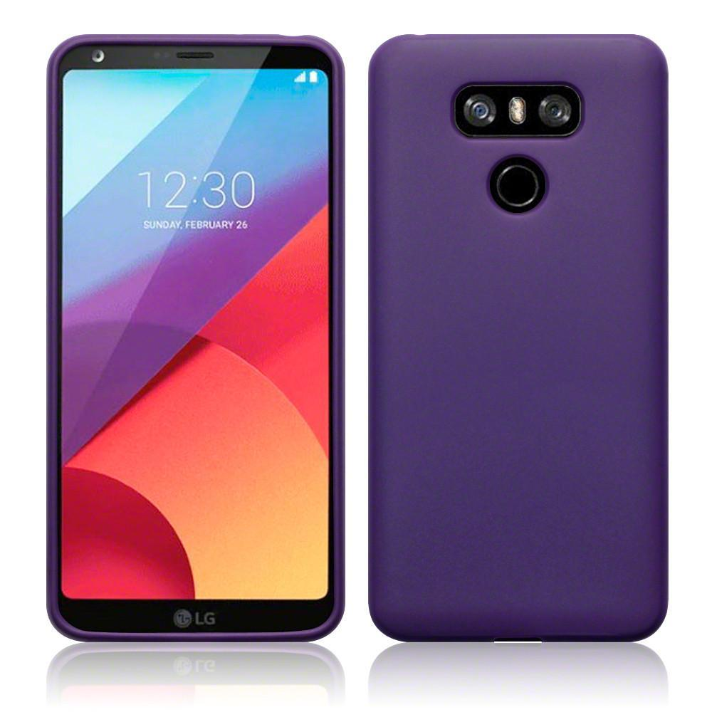 Terrapin Cases Terrapin LG G6 TPU Gel Case - Solid Purple Matte