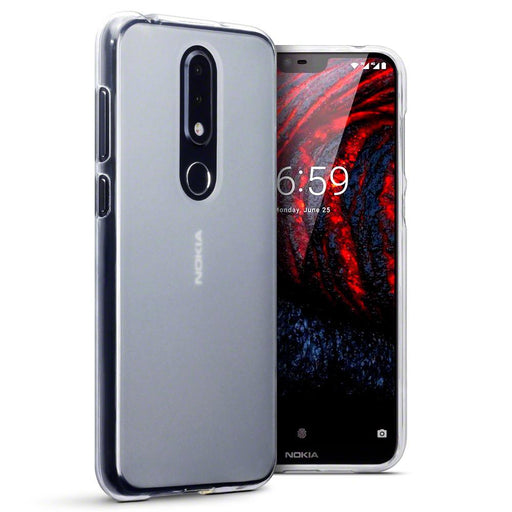 Terrapin Cases Terrapin Nokia 6.1 PLUS/X6 TPU Gel Case - Clear