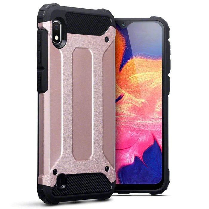 Terrapin Cases Terrapin Samsung Galaxy A10 Double Layer Impact Case - Rose Gold