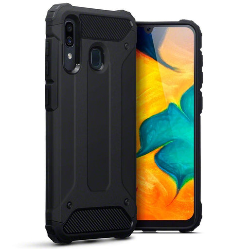 Terrapin Cases Terrapin Samsung Galaxy A30 Double Layer Impact Case - Black