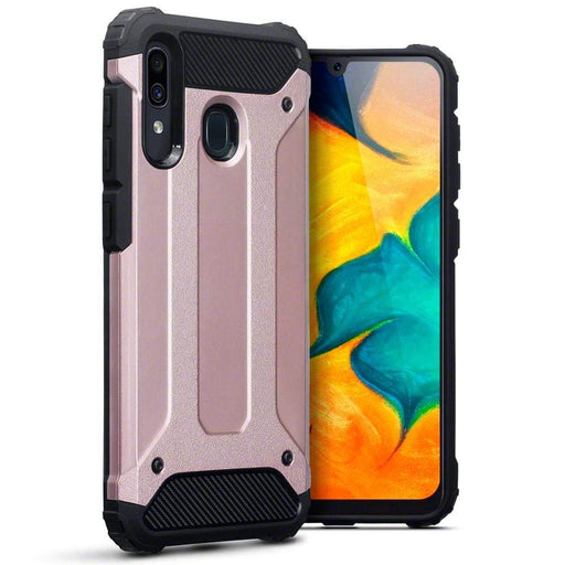 Terrapin Cases Terrapin Samsung Galaxy A30 Double Layer Impact Case - Rose Gold