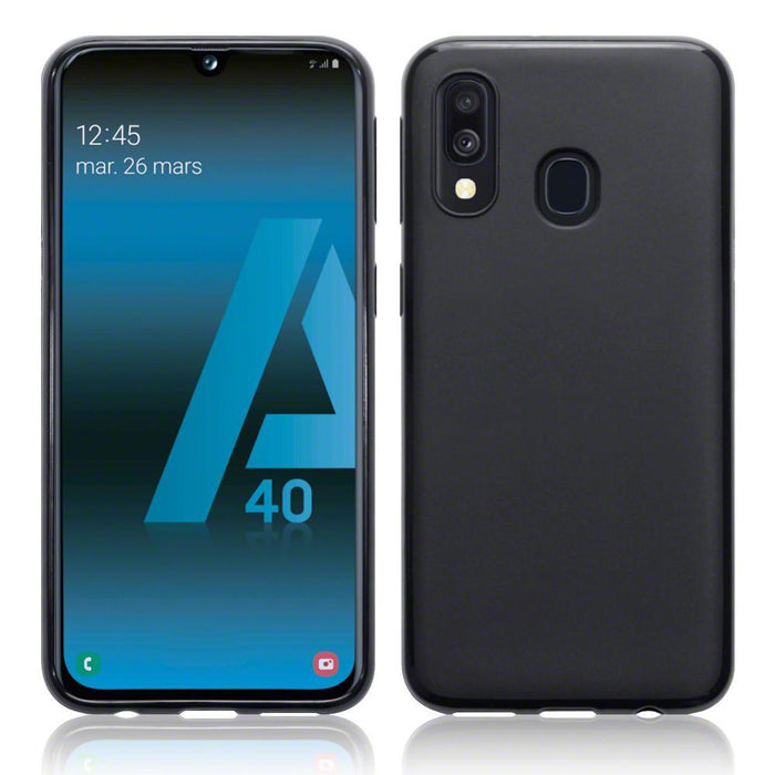 Terrapin Cases Terrapin Samsung Galaxy A40 TPU Gel Case - Black Matte