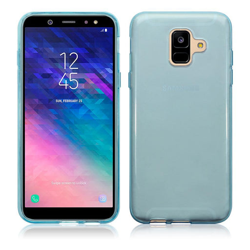 Terrapin Cases Terrapin Samsung Galaxy A6 2018 TPU Gel Skin Case - Blue