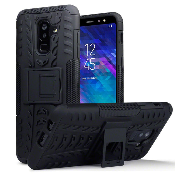 Terrapin Cases Terrapin Samsung Galaxy A6 Plus 2018 Rugged Case - Full Black