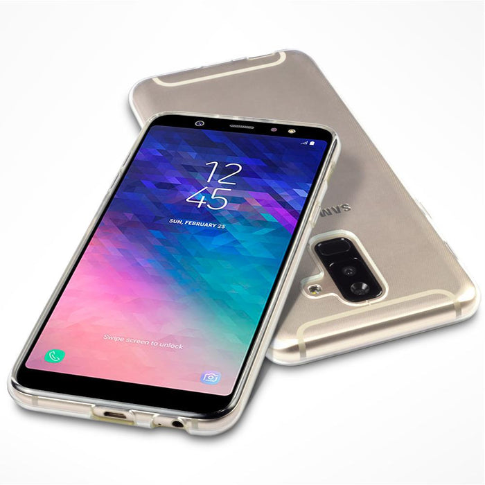Terrapin Cases Terrapin Samsung Galaxy A6 Plus 2018 TPU Gel Skin Case - Clear
