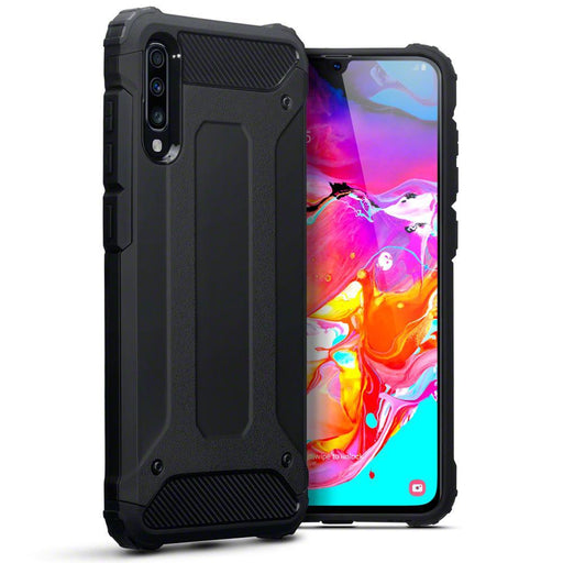 Terrapin Cases Terrapin Samsung Galaxy A70 Double Layer Impact Case - Black
