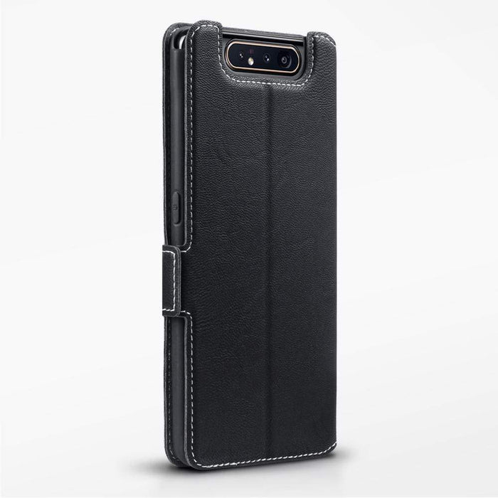 Terrapin Cases Terrapin Samsung Galaxy A80 Low Profile PU Leather Wallet Case  - Black