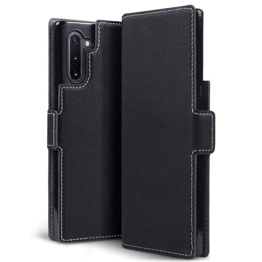 Terrapin Cases Terrapin Samsung Galaxy Note 10 Low Profile PU Leather Wallet Case - Black